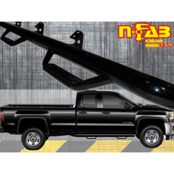 C1573QC N-Fab Cab Length 4 Step Nerf Step 2015-2017 Chevy / GMC