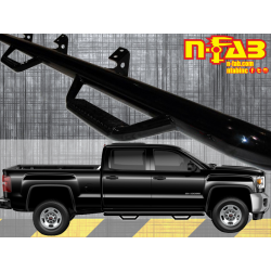 C1575CC N-Fab Cab Length 4 Step Nerf Step 2015-2017 Chevy / GMC